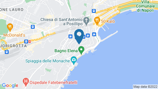 Hotel Paradiso, BW Signature Collection by Best Western Map