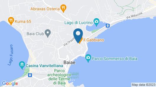 Hotel Il Gabbiano Map