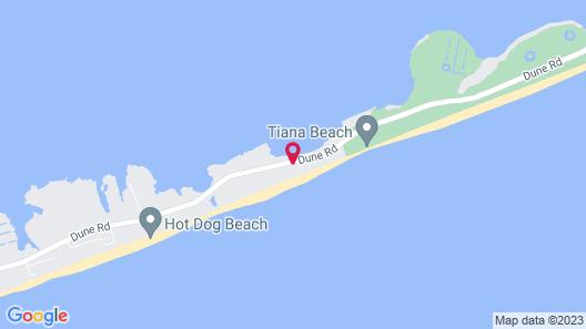 Hampton Ocean Resort Map