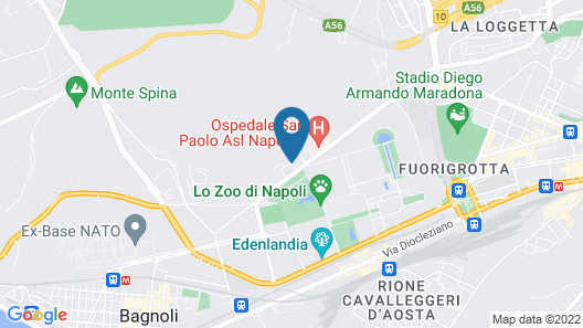 Hotel San Paolo Map