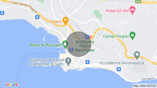 Flego. In the Heart of Pozzuoli Map