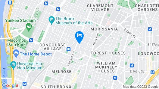 Days Inn by Wyndham Bronx Near Stadium Map