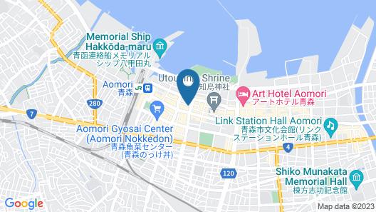 Daiwa Roynet Hotel Aomori Map