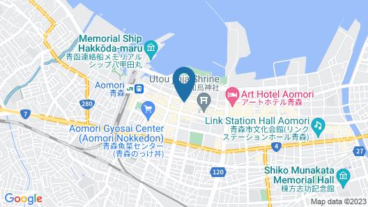 Hotel JAL City Aomori Map