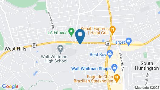 Rodeway Inn Huntington Station - Melville Map