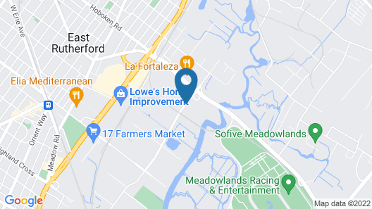 Residence Inn by Marriott East Rutherford Meadowlands Map