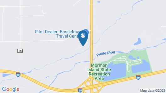 Motel 6 Grand Island, NE Map