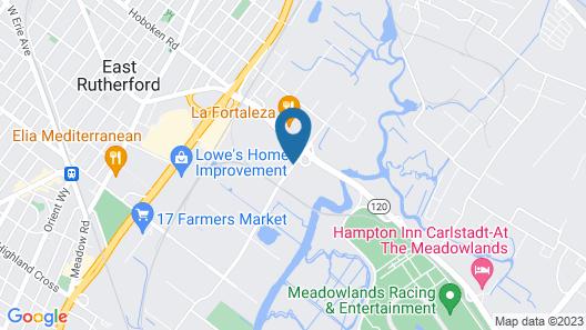 Fairfield Inn by Marriott East Rutherford Meadowlands Map