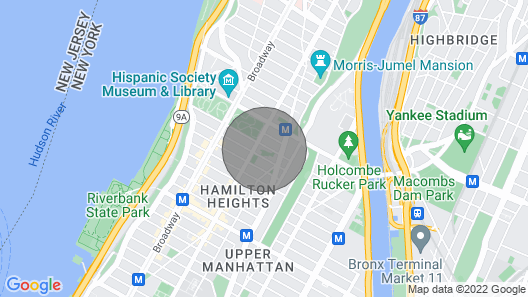Discounted Manhattan Superhost 1BR Garden Apartment Map