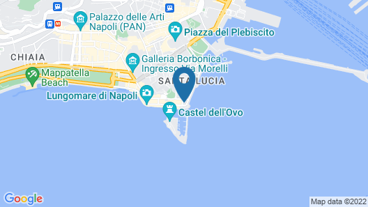 Eurostars Hotel Excelsior Map