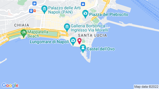 Royal Continental Hotel Naples Map