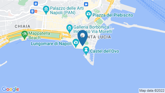 Royal Continental Hotel Naples Map
