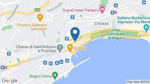 Casa Miranapoli Map