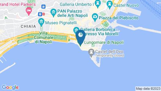 Grand Hotel Santa Lucia Map