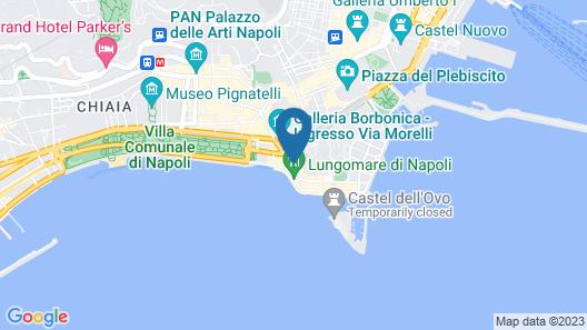 Napoli Tree - Lungomare Map