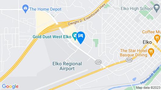 Hampton Inn by Hilton Elko Map