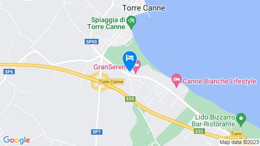 Granserena Hotel Map
