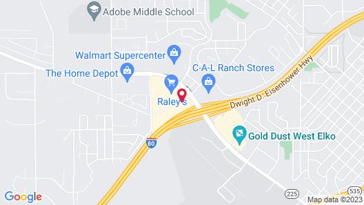 Shilo Inn Elko Suites Map