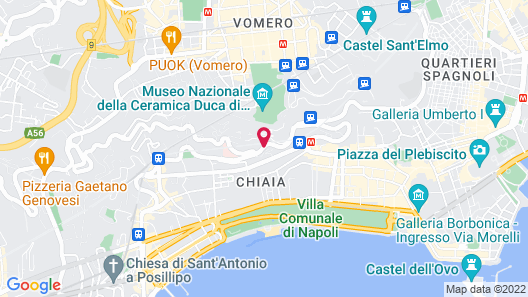 Grand Hotel Parkers Map