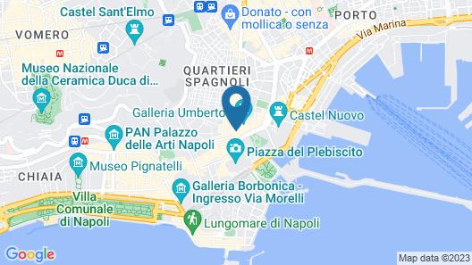Hotel Matilde - Lifestyle Hotel Map
