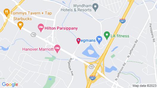 Hyatt House Parsippany/Whippany Map