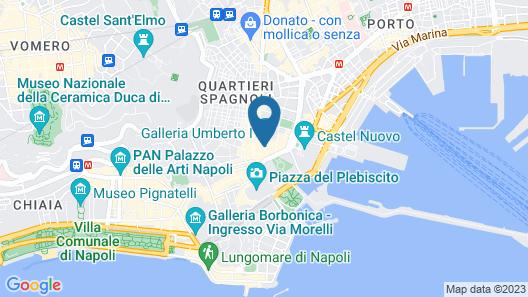 Hotel Art Resort Galleria Umberto Map