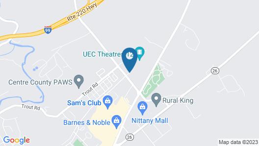 Best Western Plus University Park Inn & Suites Map
