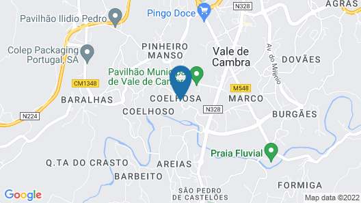 Casa de Coelhosa - Budget Twin Room Map