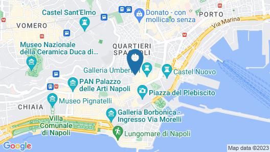 Antica Capri B&B Map