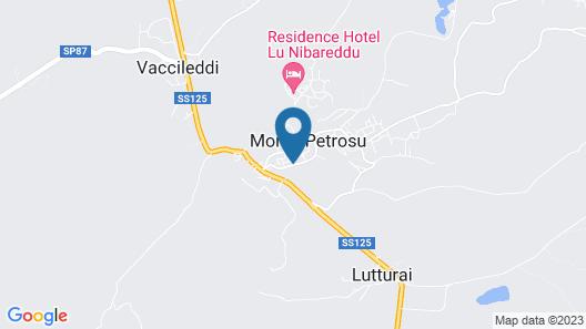 Montepetrosu Charming House Map