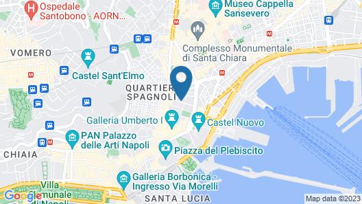 Renaissance Naples Mediterraneo Map