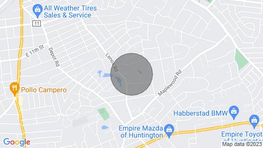 Dix Hills Mansion/huntington Map
