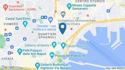NH Napoli Panorama Map