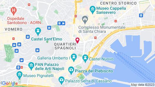 Grand Hotel Oriente Map