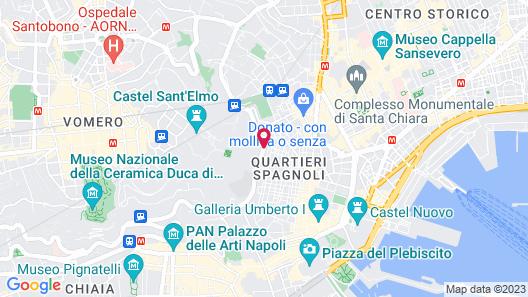 Hotel San Francesco Al Monte Map