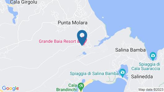 Resort Grande Baia Map