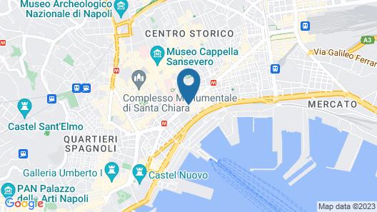 Hotel Nunù Map