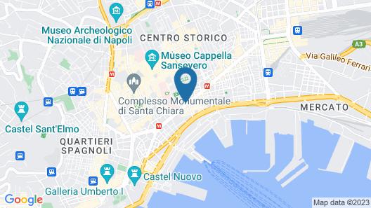La Fontanina Suites Map
