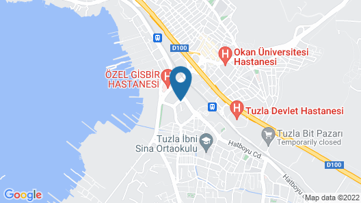DoubleTree by Hilton Hotel Istanbul - Tuzla Map