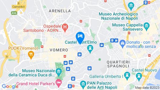 Villa San Martino Map