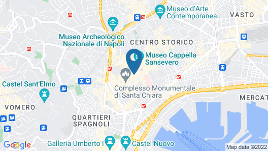 Santa Chiara Boutique Hotel Map