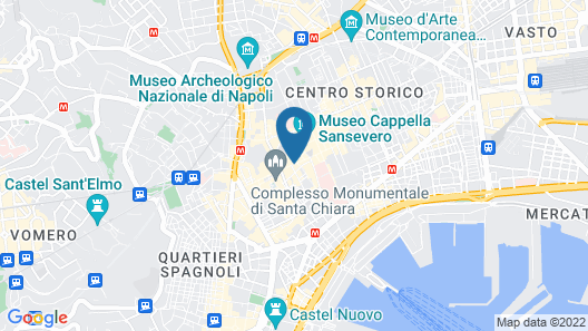 Santa Chiara Boutique Hotel Map
