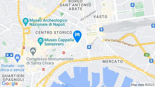Suite CuoreNapoletano Map