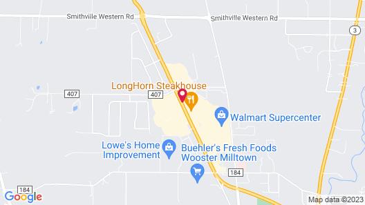 Hampton Inn Wooster Map
