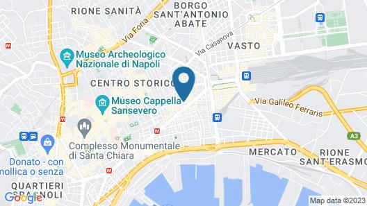 Palazzo San Michele Map