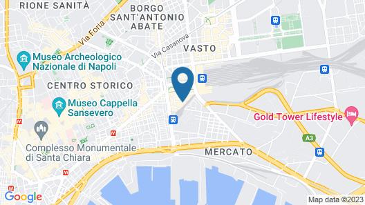 ibis Styles Napoli Garibaldi Map
