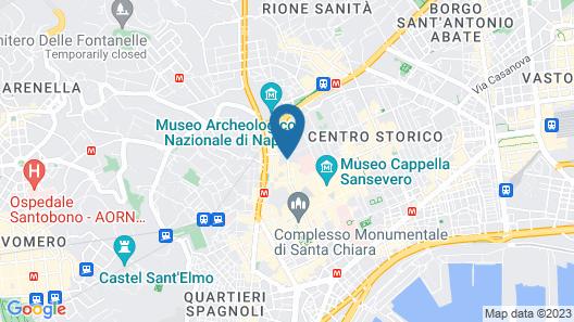 Hotel Piazza Bellini & Apartments Map