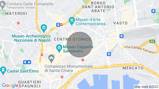 Casa Margherita Map