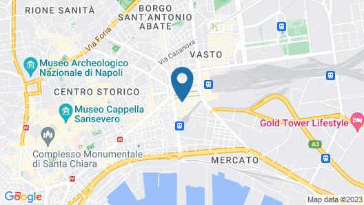 Hotel Vergilius-Billia Map