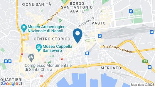 Hotel San Pietro Map